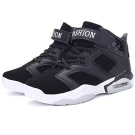 Ericdress Korean Color Block High Top Men's Sneakers