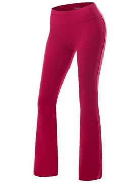Ericdress Solid Color Jogging Pants
