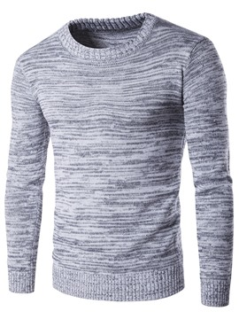 Pull Ericdress Simple plaine Pull homme