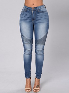 Ericdress Unique Skinny Jeans