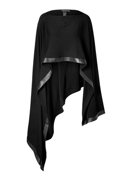 Ericdress Loose Patchwork Mid-Length Cape
