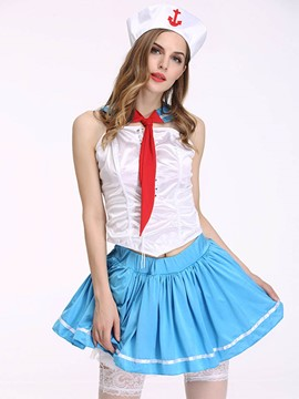 Ericdress Bowknot Sexy Sailor Costume