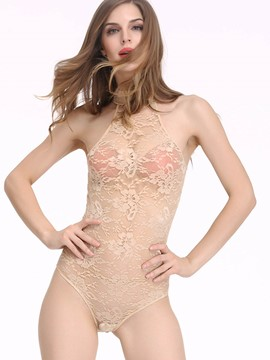 Ericdress See-Through Skinny Lace Sexy Teddy