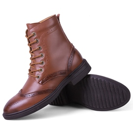 Ericdress British Brogue Men's Boots