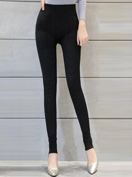 Ericdress Unique Skinny High-Waist Leggings Pants