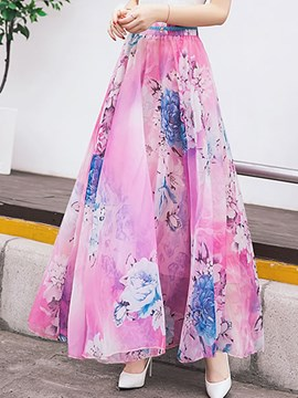 Ericdress Sweet Maxi Rock
