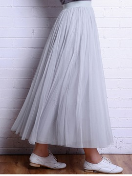 Ericdress Sweet Gauze Skirt