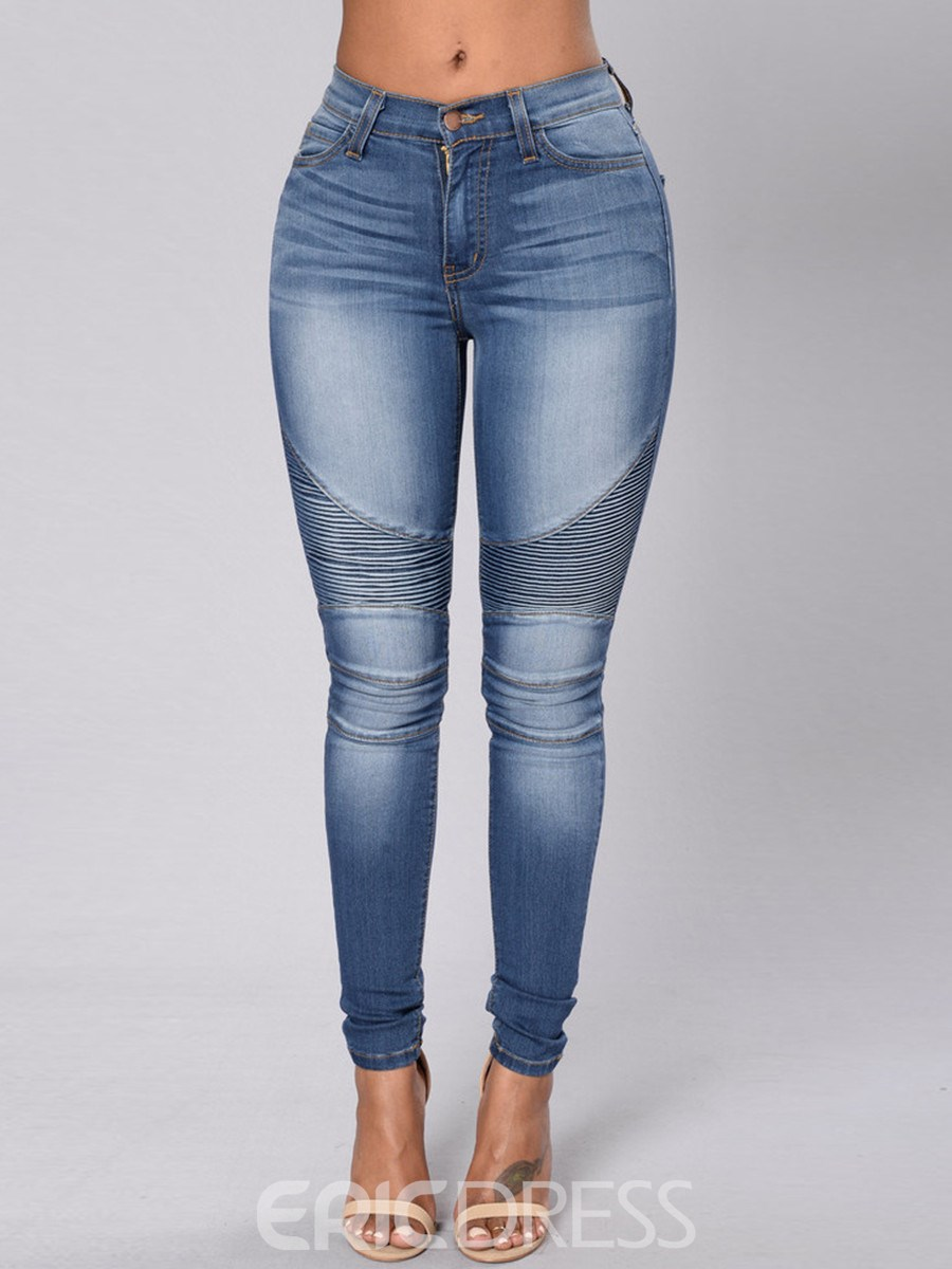 Ericdress Unique Skinny Jeans 12427830