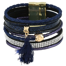 Ericdress Multi-Layer Vintage Leather Bracelet