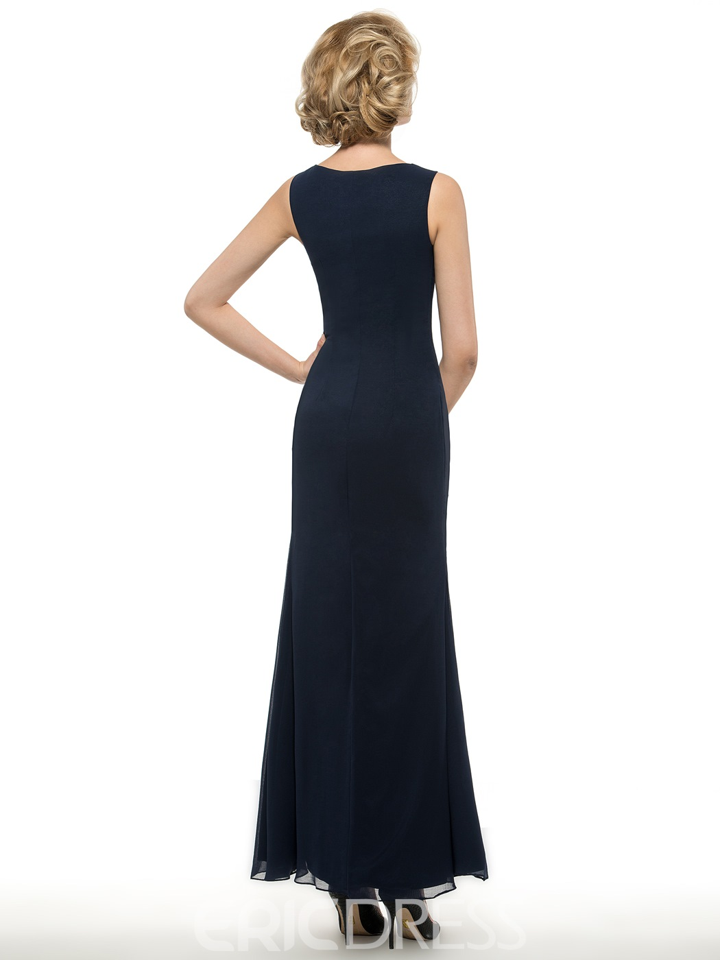 Ericdress Elegant Sheath Long Mother Of The Bride Dress