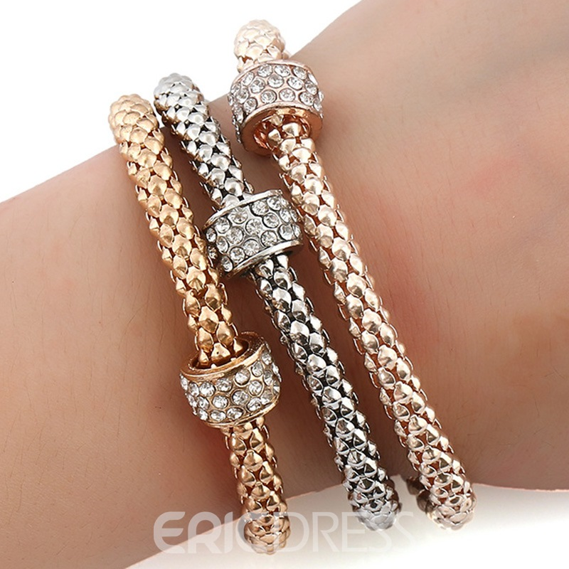 Ericdress Metal Beads Design Bracelet