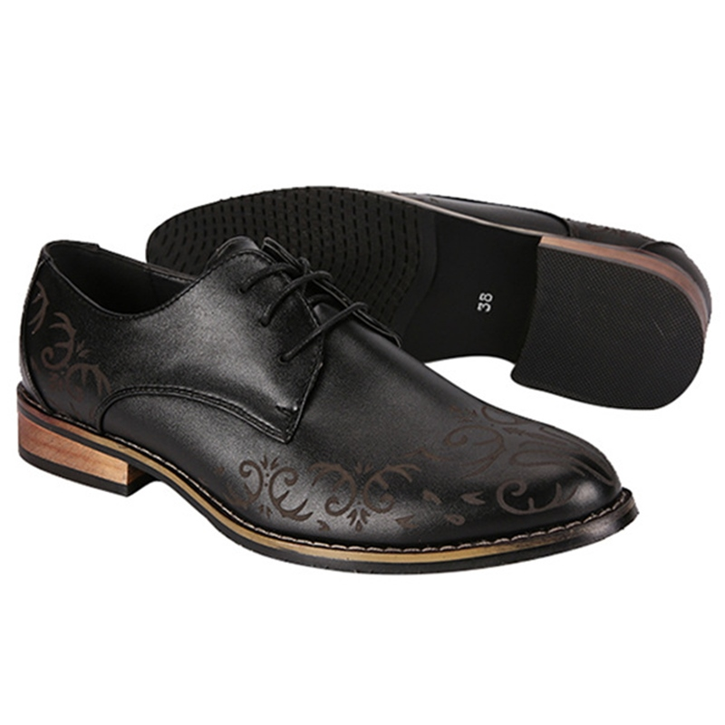 Ericdress Gentlemen's Point Toe Men's Oxfords