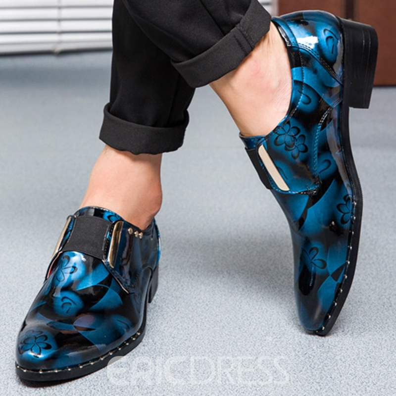 Ericdress British Patent Leather Men's Oxfords