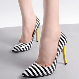 Ericdress Classic Striped Pointed Toe Pumps