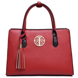Ericdress Ethnic Tassel Decorated Handbag