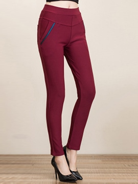 Ericdress Warm Fleece Casual Pants