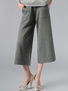 Ericdress Simple Casual Pocket Pants
