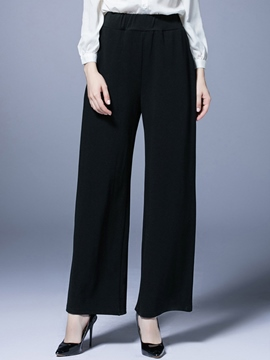 Ericdress Plus Size High-Waist Loose Pants