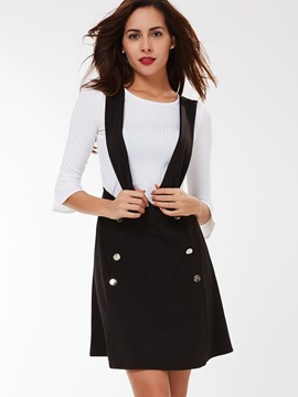 Ericdress Military Style Suspender Dress Suit