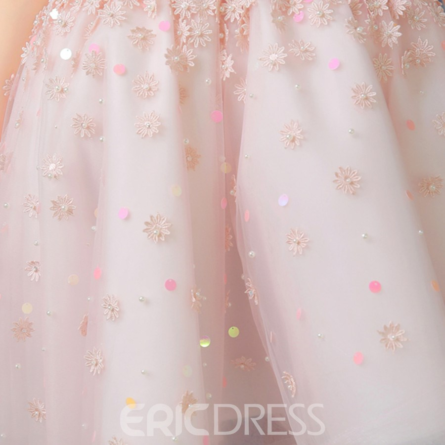 Ericdress Chic A line Sweetheart Beaded Asymmetry Prom Dress