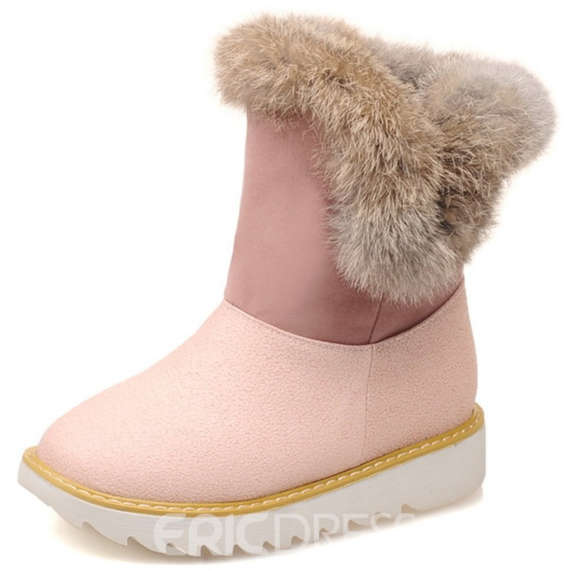 Ericdress Amazing Shearling Snow Boots