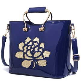 Ericdress Trendy Sequins Flower Handbag