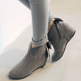 Ericdress Sweet Back Bowknot Ankle Boots