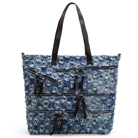 Cool Ripped Denim Tote Bag
