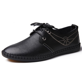 Ericdress Euroamerica Hollow Thread Lace-Up Men's Casual Shoes
