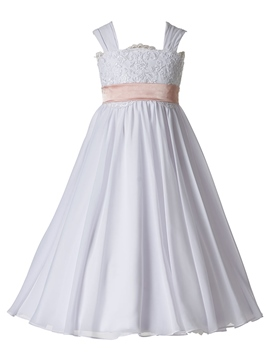 Ericdress Simple Cheap Straps A Line Flower Girl Dress