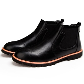 Ericdress Retro Round Toe Men's Boots