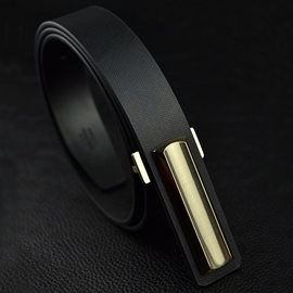 Ericdress Casual Smooth Buckle Design Men's Belt