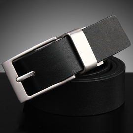 Ericdress Simple Pin Buckle Design Men's Belt