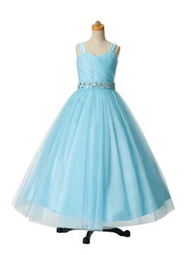 Ericdress belle perles bretelles robe boule robe Party Flower Girl