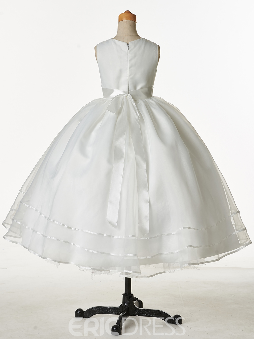 Ericdress Classical Jewel Ball Gown Cheap Flower Girl Dress