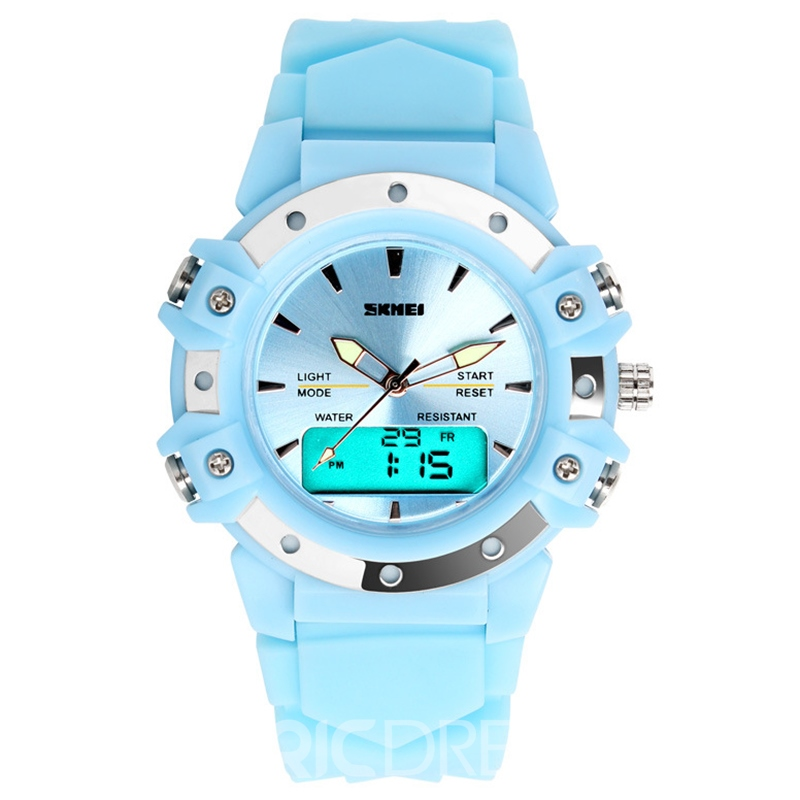 Ericdress Analog-Digital Electronic Luminous Watch