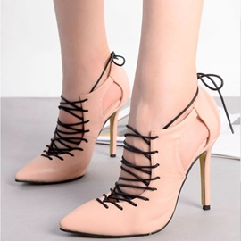 Ericdress All Match Point Toe Stiletto Sandals