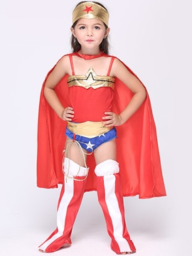 Ericdress Superman Grils Costume Suit