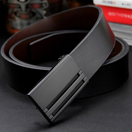 Ericdress Unique Automatic Buckle Leather Men's Belt