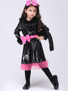 Ericdress Catwoman Grils Costume Dress