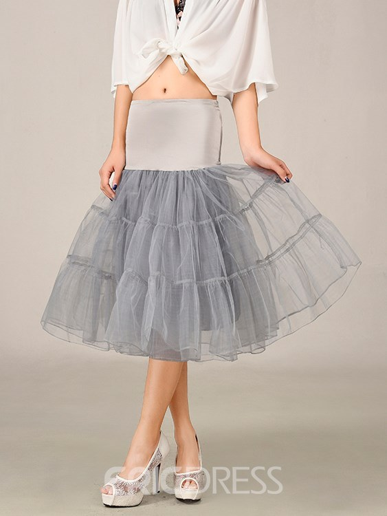 Ericdress Tulle Knee Length Underskirt
