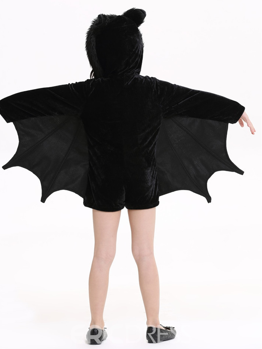 Ericdress Halloween Christmas Cozy Bat Girls Costume