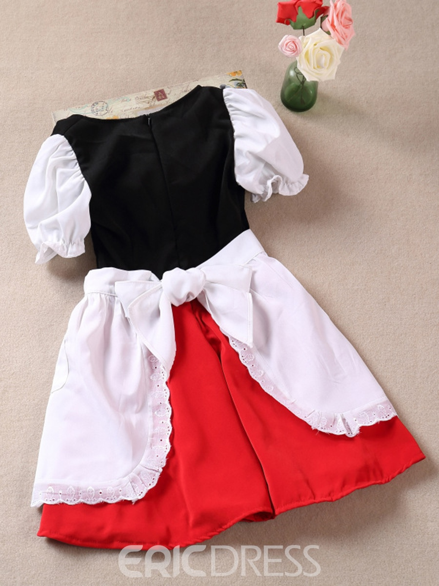 Ericdress Halloween Little Red Riding Hood Costume