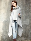 Ericdress Solid Color Loose Heap Cool Hoodie