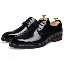 Ericdress Color Block Square Heel Men's Oxfords