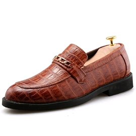 Ericdress PU Croco Men's Oxfords
