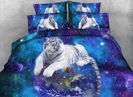 Ericdress Magnificent Cosmos Tiger Print 3D Bedding Sets