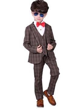 Ericdress British style Three-Piece of Boy's Suit