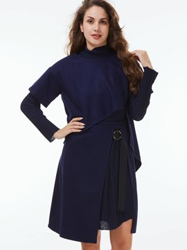 Ericdress Unique Asymmetric Leisure Suit