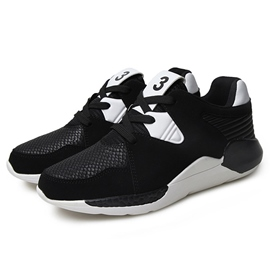Ericdress All Match Mesh Color Block Men's Athletic Shoes